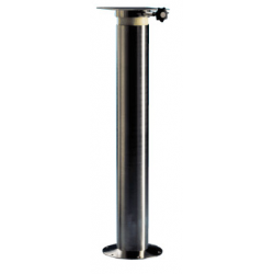 Stainless steel fixed pedestal with rotation plate