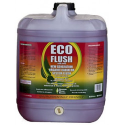 Organic cooling system flush