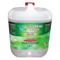 Eco spray wash and emersion organic cleaner