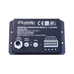 NMEA2000 Modules 4 Channel temperature module Type 4521