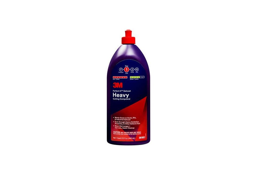 Perfect-It Gelcoat heavy cutting compound