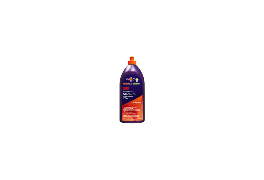 Perfect-It Gelcoat medium cutting compound + wax (One-Step)