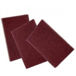 Scotch-Brite hand pad Maroon 152mm<br/>x 228mm for surface conditioning<br/>(heavy duty)