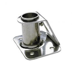 Stanchion socket STANCHPR straight<br/>Dia. 25mm SS316<br/>