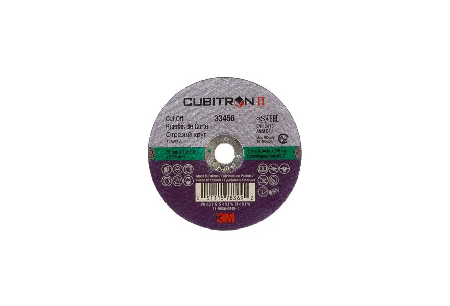3M Cubitron II Cut-Off wheel