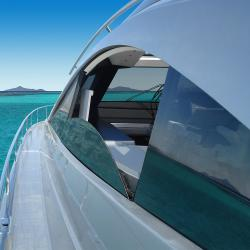 Superyacht windows