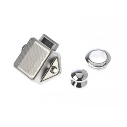Push lock 35x20x28 mm chromed<br/>plastic<br/>