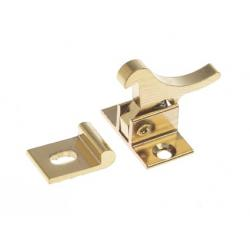 Catch elbow 34.5 x 29 mm Brass<br/>polished<br/>