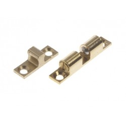 Catch & stud 44 x 8 mm Brass<br/>polished<br/>