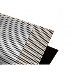 Insulation Sorberscreen PCALU1000<br/>powder coated white without backing<br/>2500 x 1250 mm