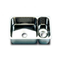 Rectangular double sinks