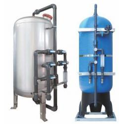 Multimedia sand filter for watermaker