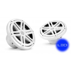"""Speaker 7.7"""" MX770-CCX-SG-CLD-B<br/>Chrome sport grille with Blue LED<br/>cockpit coaxial system (pair)"""