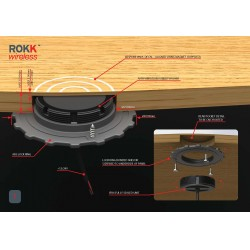 ROKK Wireless charging pads