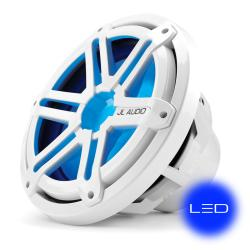 "Subwoofer 10"" MX10IB3-SG-CLD-B<br/>Chrome sport grille with Blue LED<br/>"
