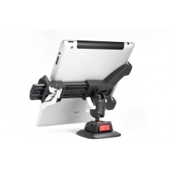 Rokk universal tablet clamp fits<br/>devices from 125-210mm<br/>