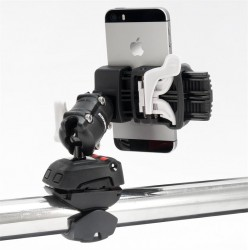 Rokk universal phone clamp fits<br/>devices from 45-95mm<br/>