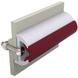 Rubbing Strake POLY40W White<br/>coil of 20m (price per coil)<br/>(Ideal for GRP vessels)
