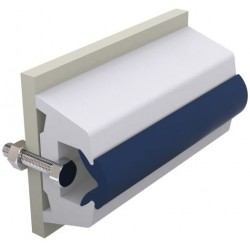Rubbing Strake TRAP70WL White<br/>coil of 30m (price per coil)<br/>(Ideal for GRP vessels)