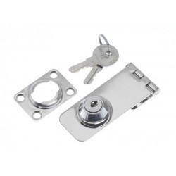 Safety-hasp lockable 76 x 30 mm