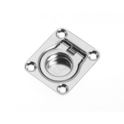 Handle lift 44 x 38 mm SS304<br/>electro polished with retrogressive<br/>spring