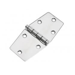 Hinge 75 x 150 mm SS304 electro<br/>polished<br/>