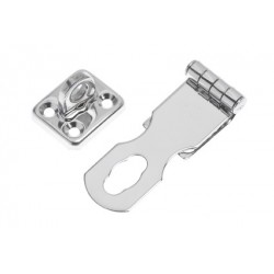 Safety-hasp with turnlock SS304