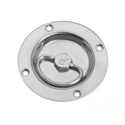 Handle lift heavy duty Dia. 97 mm<br/>SS316 electro polished (cut out<br/>Dia. 70 mm)