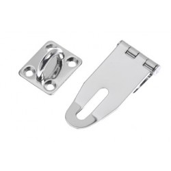 Safety-hasp heavy duty 71 x 30 mm<br/>(closed) SS304 electro polished<br/>
