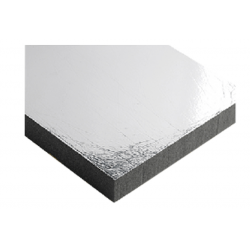 Flexible sound - deadening plate white top layer