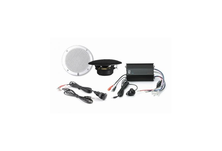 MP3KIT4W & MP3KIT4B kit (Amp with MA4055 speakers & IC3.5