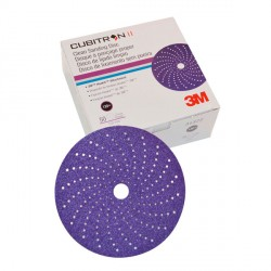 Abrasive 737U disc 150+ grit x250pc<br/>Dia. 150 mm Hookit Cubitron II<br/>Purple + multihole series