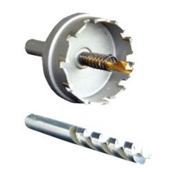 Tallon Kit Socket Installation<br/>(50 mm hole saw with mandrel,<br/>3.5 mm drill bit, plus grab handle)