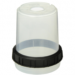 Mixing cups & collars midi (400ml)<br/>PPS (includes 2 cups & 2 collars)<br/>