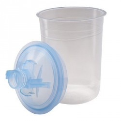 Lid & liner mini PPS 200 micron<br/>(kit includes 50 Lids, 50 liners<br/>& 24 sealing plugs)
