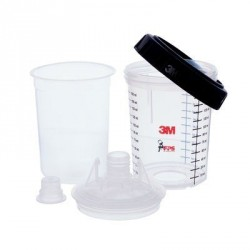 Lid & liner mini PPS 125 micron<br/>(kit includes 50 Lids, 50 liners<br/>& 24 sealing plugs)