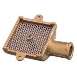 Bilge Strum box with stainless steel gauge-brass (Art. 1200)