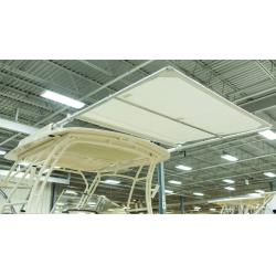 "Sureshade MTX3 9ft black 190""<br/>centerline width manual pull-out<br/>"