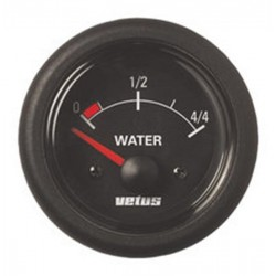 Gauge water level WATERB black<br/>12/24V<br/>