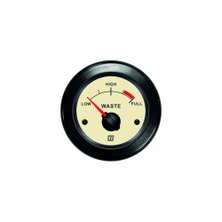 Gauge waste water level WASTN cream<br/>12/24V<br/>