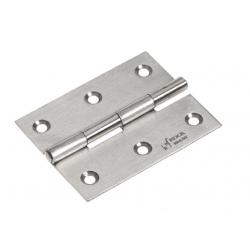 Hinge butt 60 x 34 mm SS316 satin<br/>finish<br/>