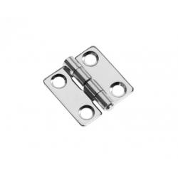 Hinge butt 30 x 30 mm SS304 electro
