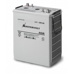 Battery AGM 340Ah 6V Mastervolt