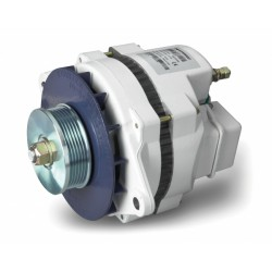 Alternator 12/130 Multi groove<br/>incl. 3step Alpha Pro II charge regulator<br/>