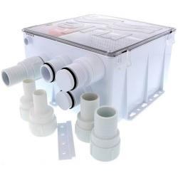Shower & sink drain 12V 800Gph auto<br/>-matic with multi port sump box<br/>
