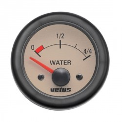 Gauge water level WATERN cream 12/<br/>24V cut-out Dia. 52 mm excluding<br/>sensor