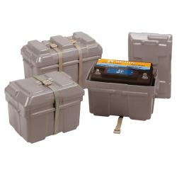 Battery box 244 x 175 x 175 mm<br/>for 55Ah VETUS battery<br/>