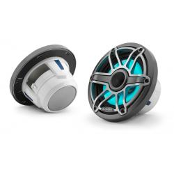 "Speaker 6.5"" M6-650X-S-GmTi-i LED<br/>Gunmetal trim ring Titanium<br/>Sport grille coaxial system (pair)"