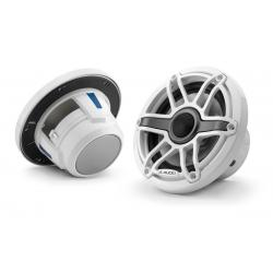 "Speaker 6.5"" M6-650X-S-GwGw gloss<br/>white trim ring gloss white sport<br/>grille coaxial system (pair)"