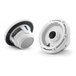 "Speaker 6.5"" M6-650X-C-GwGw gloss<br/>white trim ring gloss white classic<br/>grille coaxial system"